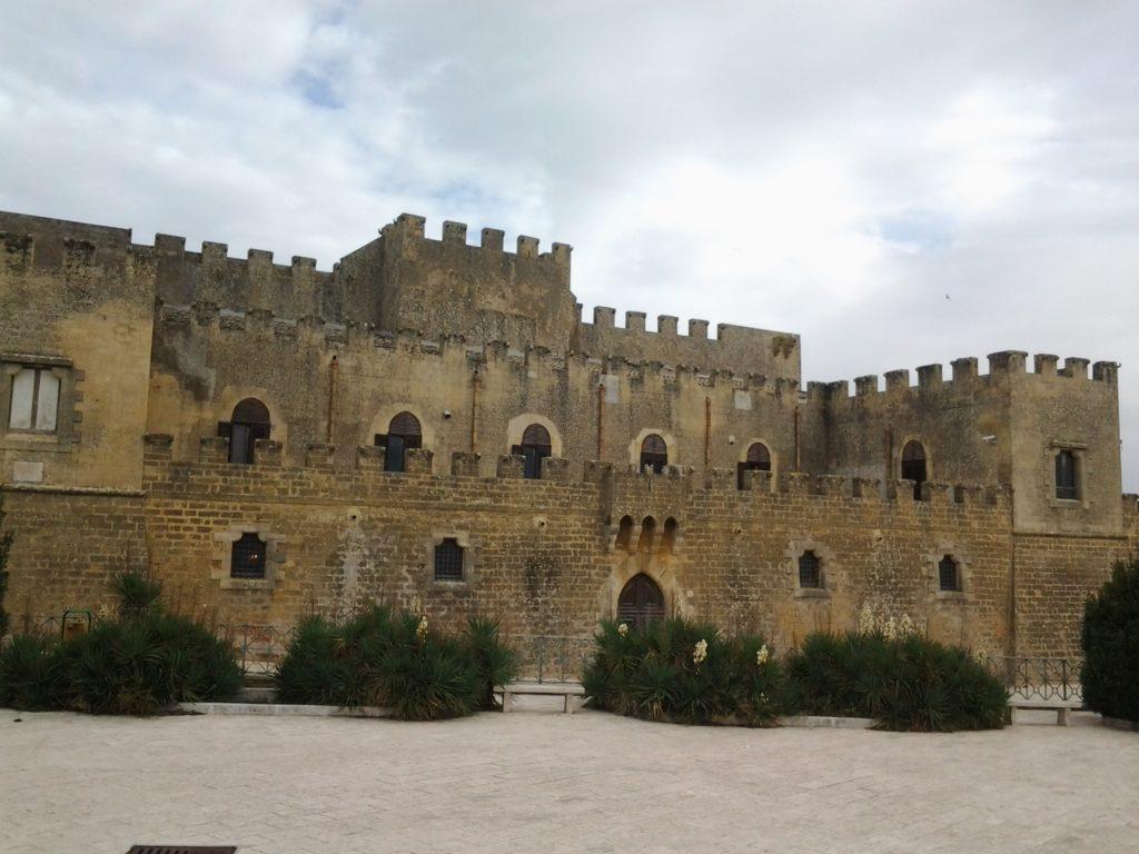Il Castello Grifeo a Partanna