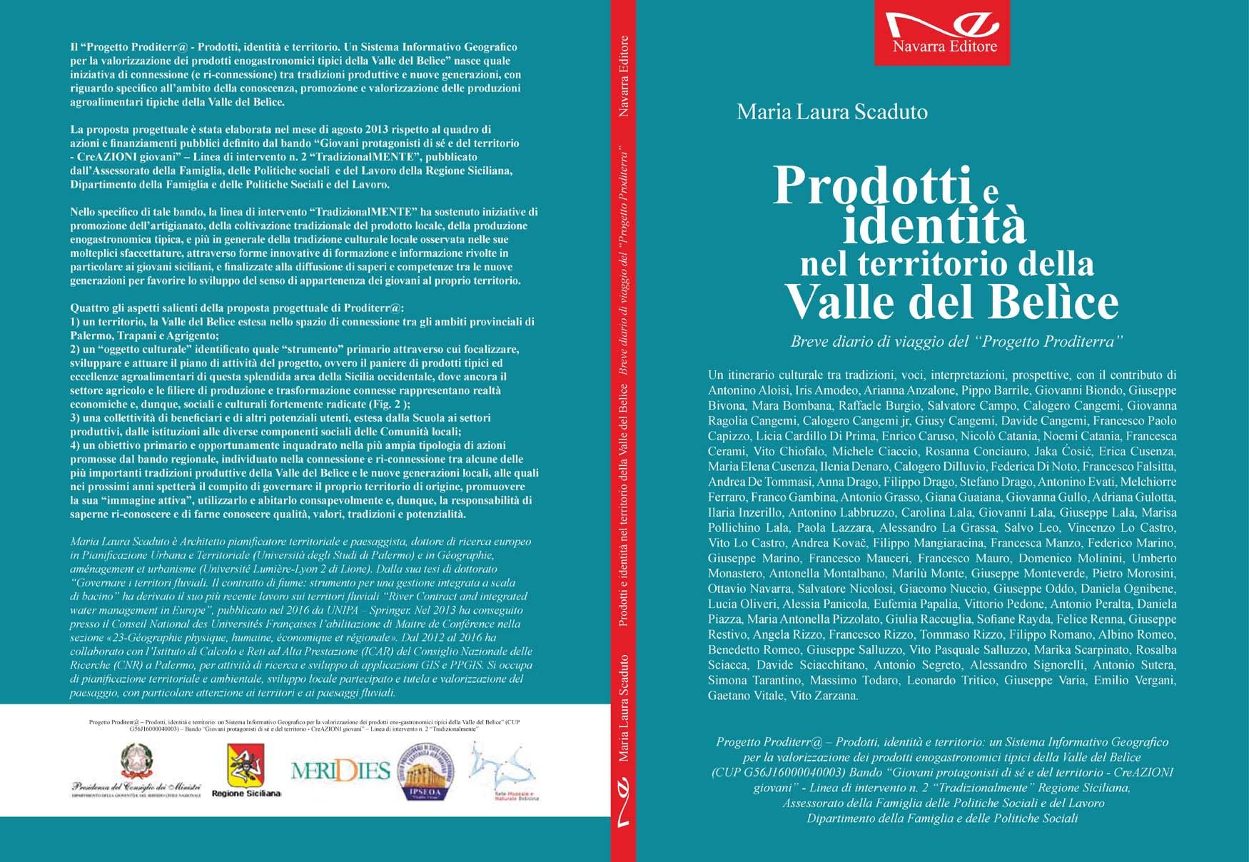 Pubblicazione finale del Progetto Proditerr@ - 2017